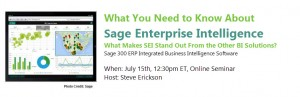 What You Need to Know about Sage Enterprise Intelligence