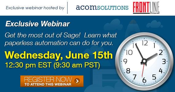 Sage - Acom Webinar