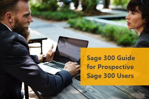 Sage 300 Guide for Sage 300 Users