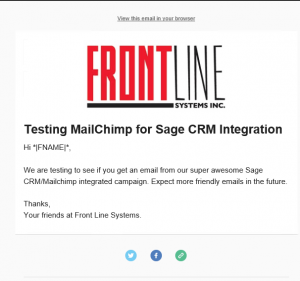 Turbocharge Your Email Marketing with the Sage CRM and MailChimp Integration