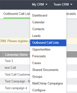 CRM Software: Discover How To Use Outbound Call Lists in Sage CRM