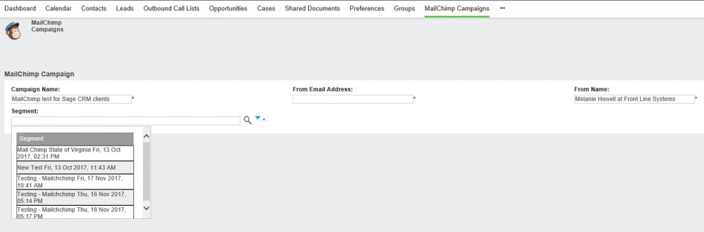 sagecrm-mailchimp-segments