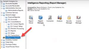 How to Create a Sage Intelligence Standard Report in Sage 300?