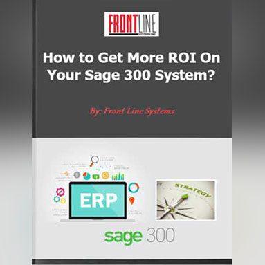 Sage 300 ERP ROI
